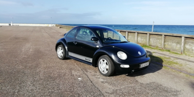 VW New Beetle, 2,0 Highline, Benzin, 1999, km 219000, sort,…