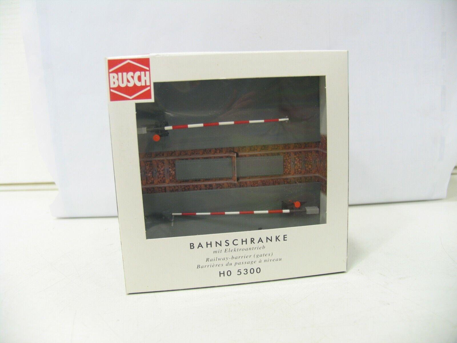 BUSCH HO 5300 BAHNSCHRANKE mit ELEKTROANTRIEB  NH4368