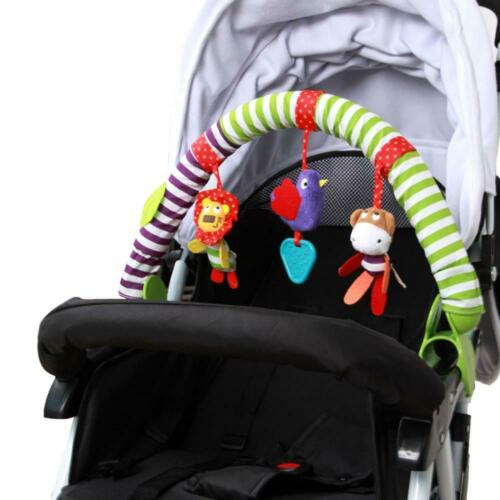 New Puzzle Baby Crib Toy Rattles Bedroom Toys Stroller Hanging Toys 0-6 Months