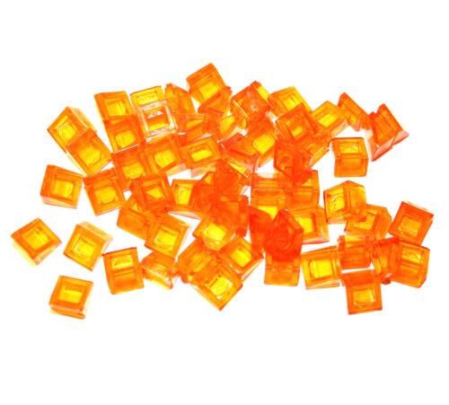 LEGO Bausteine & Bauzubehör Baukästen & Konstruktion 60x LEGO®  Schrägstein Dachstein 30° 1x1x2/3 54200 NEU transparent orange