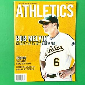 Oakland Athletics Magazine from April/May 2012 Cover & Centerfold Bob Melvin