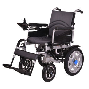 NEW-MobilityPlus-Electric-Powered-Wheelchair-Easy-Folding-Lightweight-4mph