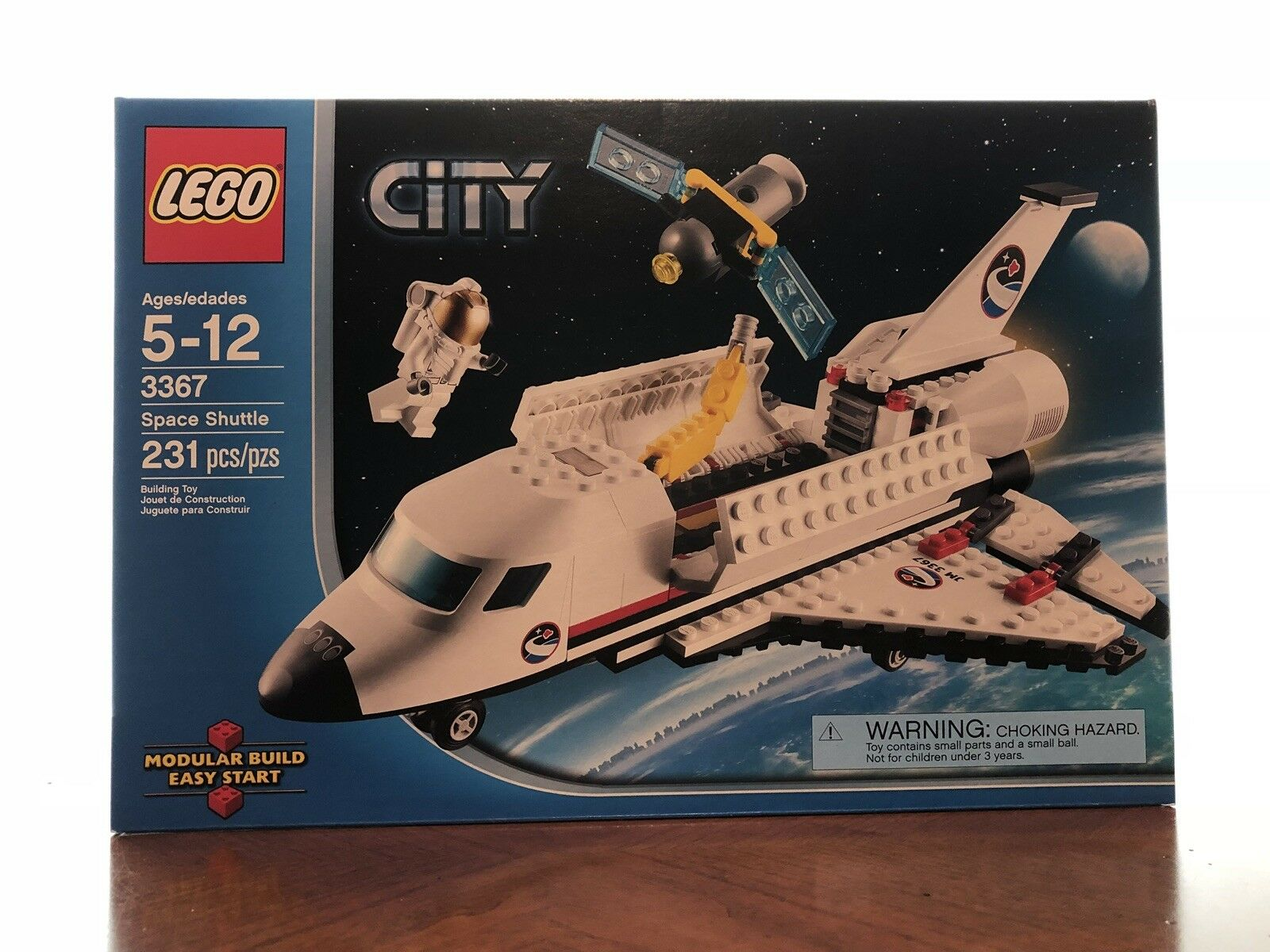 Lego 3367 City - Space Shuttle Shuttle Shuttle (Discontinued By Manufacturer) 65e863