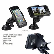 Universal Rotating Mobile Phone Holder Stand Car Mount For Smartphones GPS