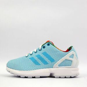 6dcbbe28f17f Image is loading adidas-Originals-ZX-Flux-Weave-Womens-Trainers-Shoes-