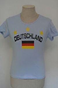 Deutschland-Girlie-T-Shir-Fasching-Karneval-Mallorca-Funshirt-Fussball-WM-EM