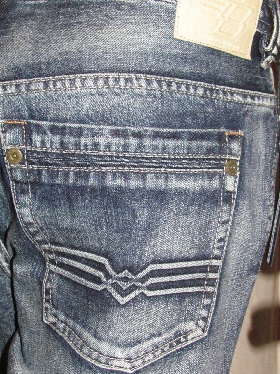 BUFFALO DAVID BITTON KANSAS DENIM Men's Jeans 32W 34W 38W X 32L NWT
