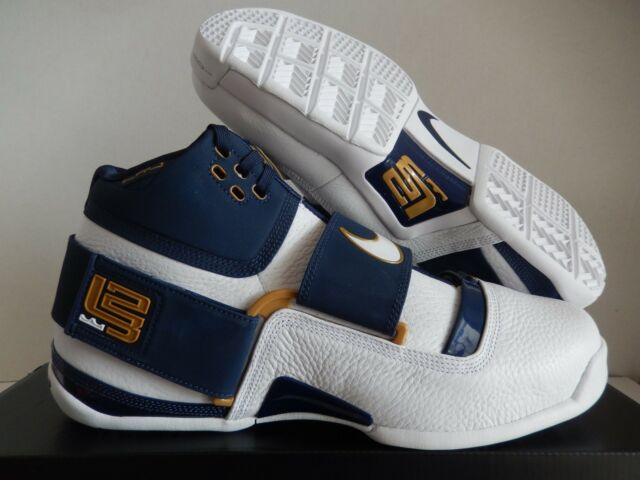meet 026c2 356b3 Nike Zoom Lebron Soldier Ct16 QS 25 Straight Mens Ao2088-400 Navy Shoes  Size 10