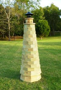 Wood Plans for a 6 ft. Lighthouse - Authentic Shape - CD ...