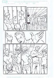 SPIDER-MAN-ORIGINAL-ART-PAGE-MARVEL-ADVENTURES-31-PAGE-5-PETER-PARKER