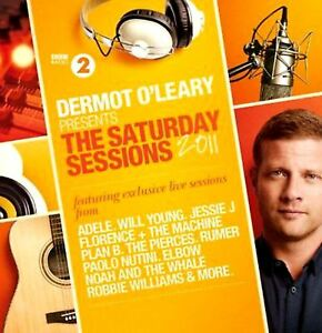DERMOT-O-039-LEARY-PRESENTS-THE-SATURDAY-SESSIONS-2011-various-2X-CD-EX-EX