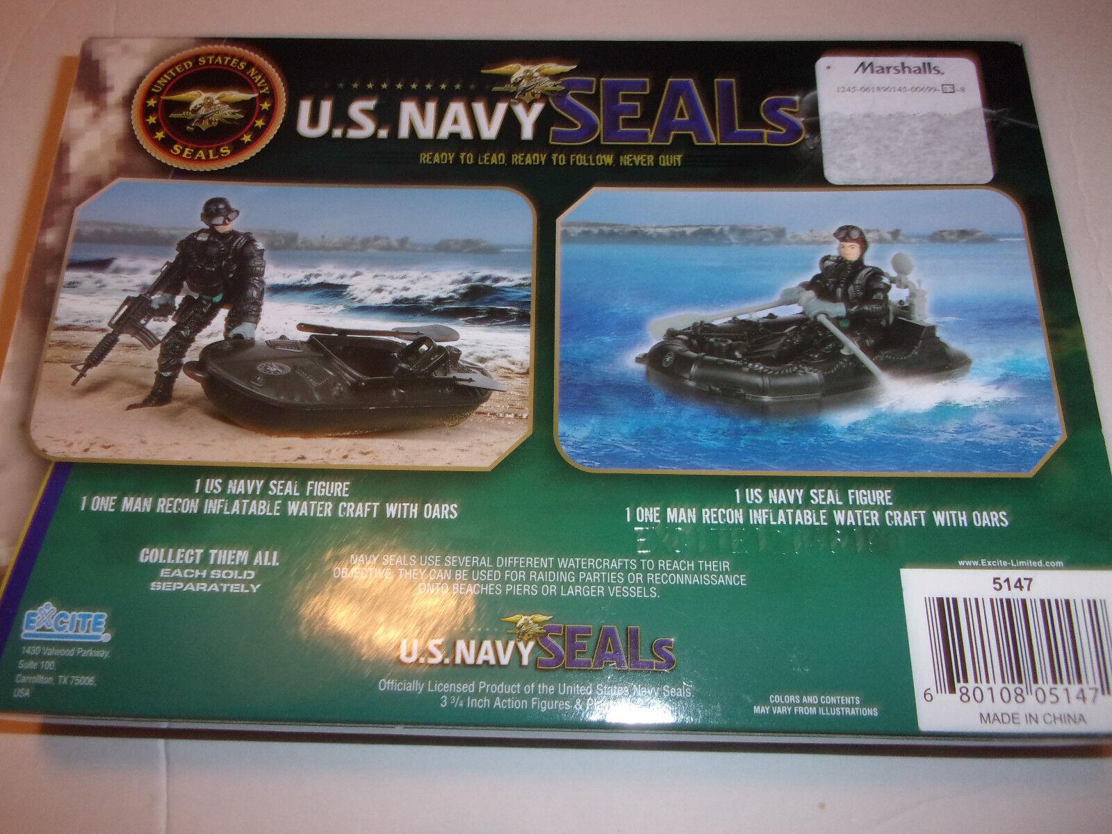 New     (2) U.S. Navy Seals Water Craft playsets 3705f7