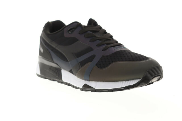 42f67d994173f Diadora N9000 WNT Bright Mens Black Synthetic Athletic Running Shoes ...