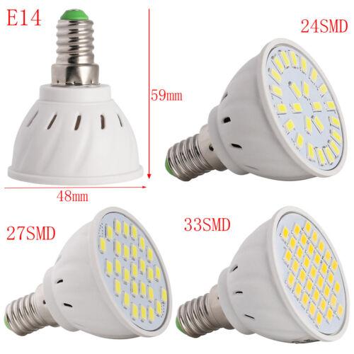 AU Dimmable GU10//MR16//E27 LED Spot Light 2835//5730 SMD Bulb 4W 5W 6W White Lamp