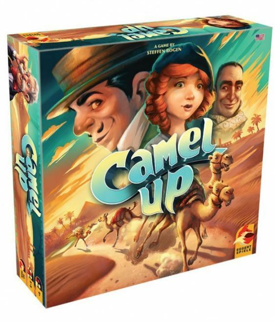 Camel Up 2nd Edition - Strategy Board Game