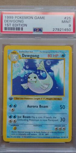 Dewgong 25//102 PSA 9 MINT 1999 Pokemon 1st Edition Base Set Shadowless