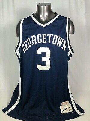 Mens Allen Retro Jerseys Athletics Iverson Jersey Denver Basketball #3 Jersey Blue S-XXL