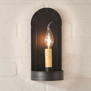 Irvin 39 S Tinware Fireplace Wall Sconce Primitive Country Lighting New