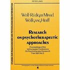 Proceedings of the 1st European Conference on Psychotherapy Research, Trier, 1981: v. 2: Research on Psychotherapeutic Approaches by Peter Lang GmbH (Paperback, 1983)