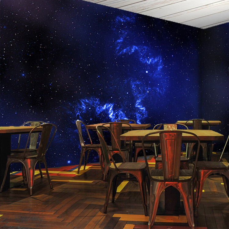 3D Bule Starry Sky 246 Paper Wall Print Wall Decal Wall Deco Indoor Murals