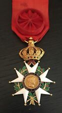 France - Légion d'honneur Officier 2nd Empire en or