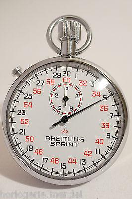 BREITLING SPRINT. CHRONOGRAPHE DE PRECISION AU 1/10 DE SECONDE. NEUF DE STOCK