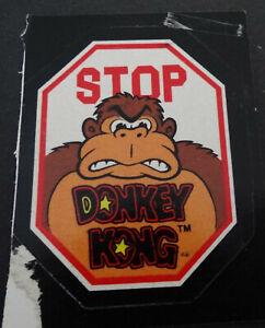 Sammler-Aufkleber Nintendo Of America Composite Image 1982 Donkey Kong Topps