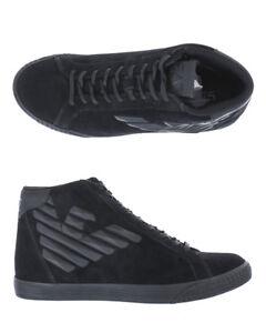 Caricamento dell immagine in corso Stivaletti-Scarpe-Emporio-Armani-Ea7- Ankle-Boots-Pelle- 2af2c2b0aa1