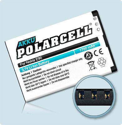 PolarCell Batería Nokia E52 E61i E63 E71 E72 E90 N97 Bp - 4l E6 6650 N810 6760