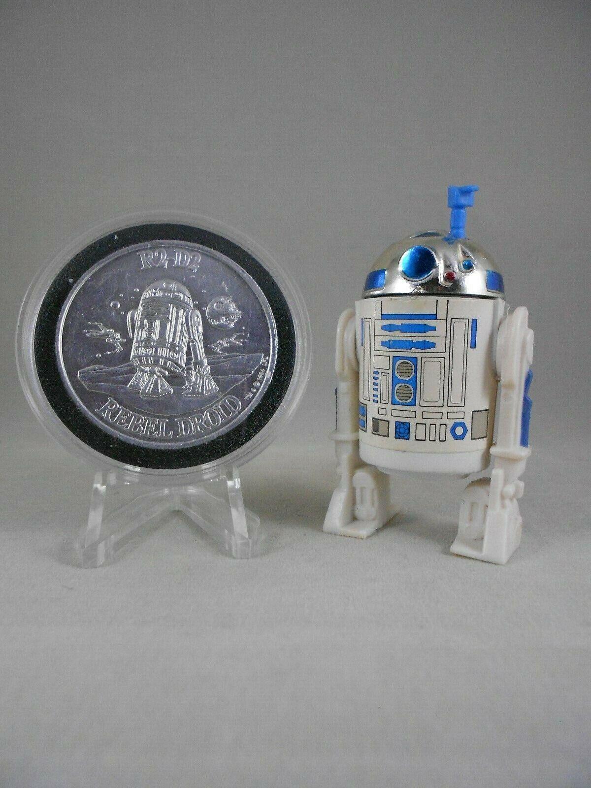 De colección Guerra de las galaxias 1981 R2-D2 Sensor   e n Menta  manga de Vintage  con 1985 Potf moneda