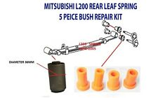 MITSUBISHI L200 1992-2007 REAR LEAF SPRING SHACKLE HANGER BUSHES KIT