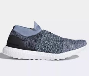 buy popular fc874 807fc Image is loading New-ADIDAS-ULTRABOOST-Laceless-Parley-Shoes-Men-039-