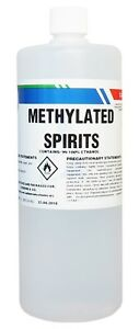 Details about Industrial Methylated Spirits 1 Litre - IMS - Metho -  Denatured Alcohol 1L
