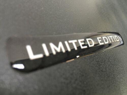 2 PREMIUM X Limited Edition Stickers Decals Brillant en Forme de Dôme Gel Finition voiture nouveau
