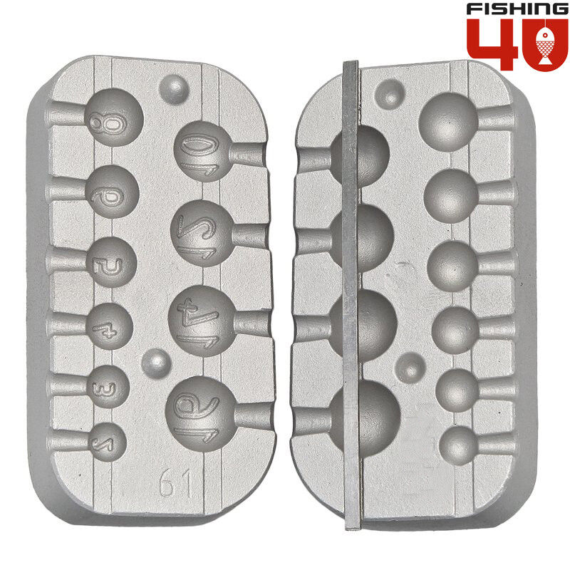 Cheburashka weight mould_ system for jig heads and predator jigs-161