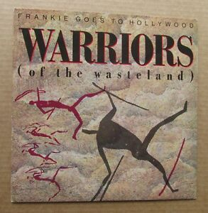 FRANKIE-GOES-TO-HOLLYWOOD-Warriors-1986-UK-7-034-VINYL-SINGLE-IN-PICTURE-SLEEVE