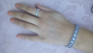 Bling-Cubic-Zirconia-Ladies-Bracelet