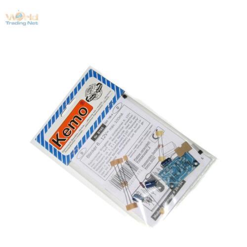 Kemo Clignotants Kit 6-12v max.100ma idéal pour LED