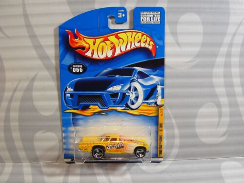 2001 Hot Wheels /'/'Turbo Taxi /'/' # 055 = `57 T-Bird = Gelb 3sp,0910