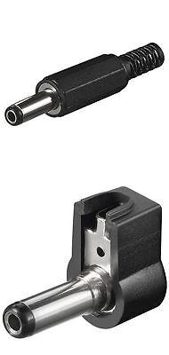 Winkelstecker,DC Stecker,Hohlstecker D= mm bis 2,5 mm,Schaftlänge 14 mm 5 DC