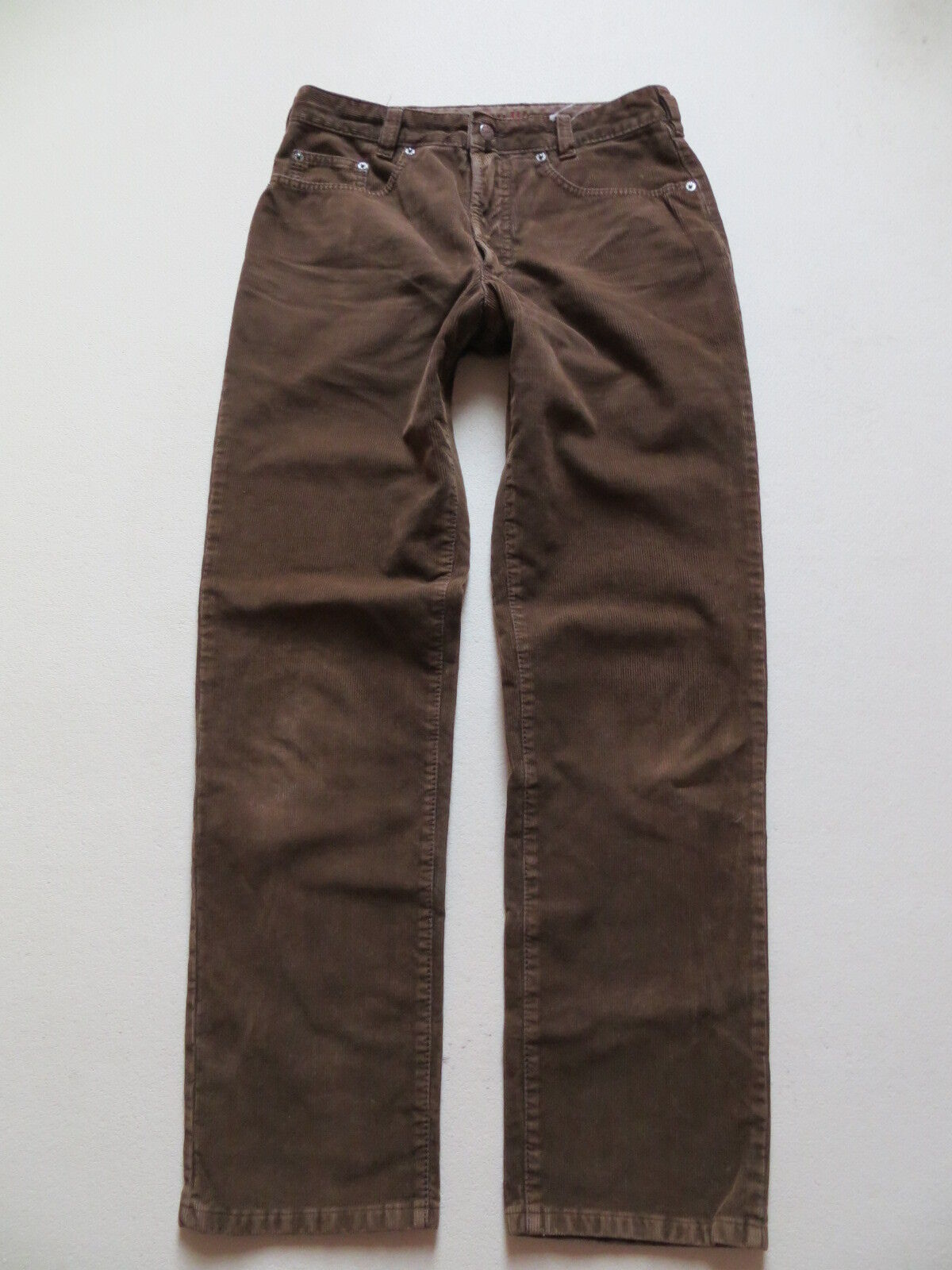 JOKER Jeans Harlem Walker Cord Hose W 31  L 32 braun Hochwertig & Robust RAR