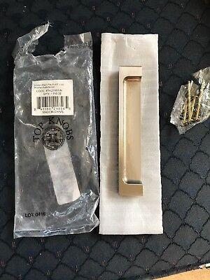"""B15 10 P27604KFBC 3/"""" // 76mm Rustic Matte Flat Black Pull Ten"""