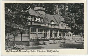 Ansichtskarte-Kurort-Hitzacker-Elbe-034-Kurhaus-Waldfrieden-034-Terrassenansicht