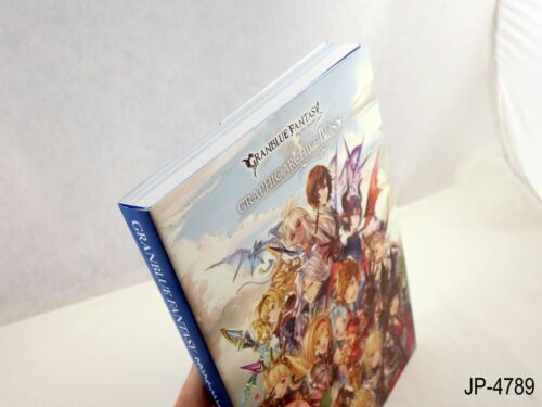 Granblue Fantasy Graphic Archive IV 4 Japanese Artbook Art Book Japan US Seller