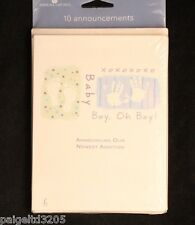 American greetings address announcement cards 20 announcements20 american greetings 10 baby boy xoxoxo announcements announcement cards m4hsunfo