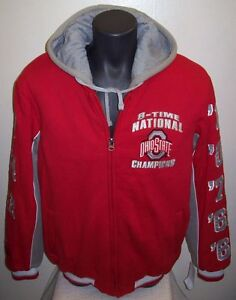 Details About Ohio State Buckeyes National Championship Hooded Winter Jacket Small Medium