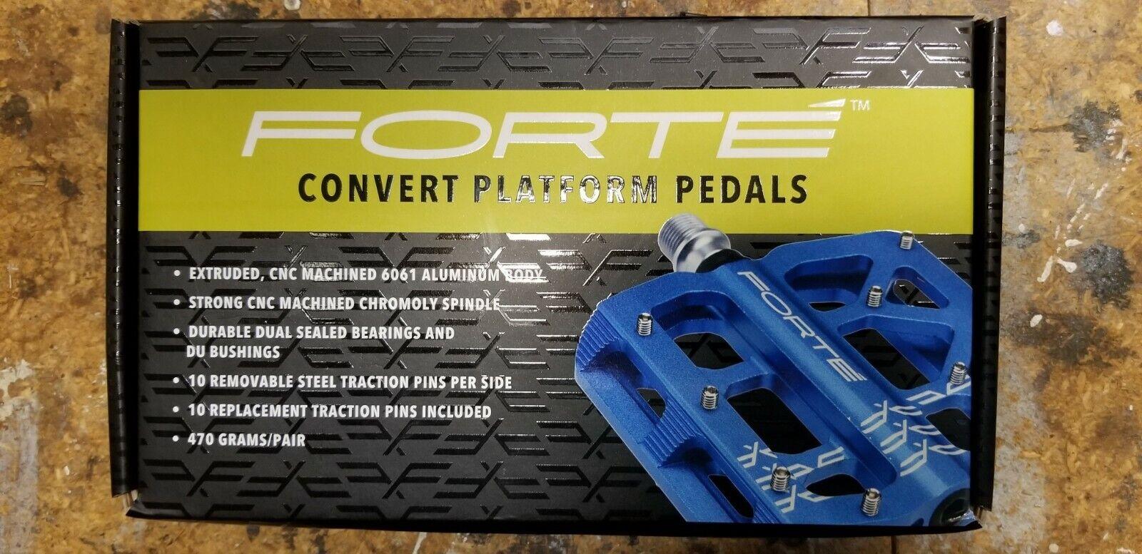 Forte converdeir Plataforma Pedales,  Color Azul  servicio honesto