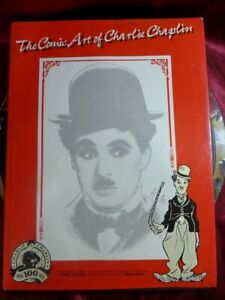 The-Comic-Art-of-Charlie-Chaplin-HB-BOOK-Denis-Gifford-Mike-Higgs-1989-first-edi