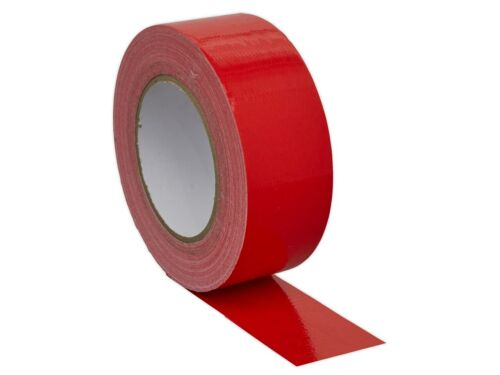 Duct Gaffer Waterproof Cloth Tape Silver RED WHITE Black 50mm