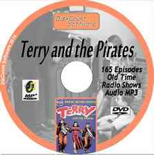 Terry and the Pirates 165 episodes Old Time Radio Shows -   MP3 DVD